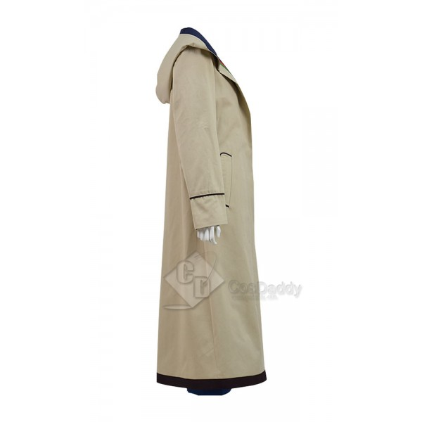 Doctor Who Thirteenth 13th Doctor beige Coat
