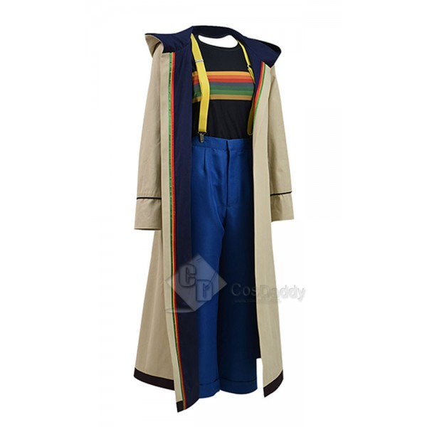 Doctor Who Thirteenth 13th Doctor new Colorful Costume