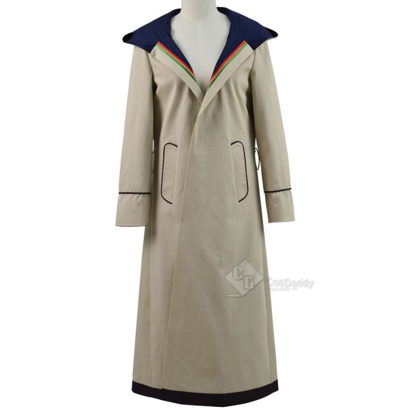 Doctor Who Thirteenth 13th Doctor Beige Coat Cospl...
