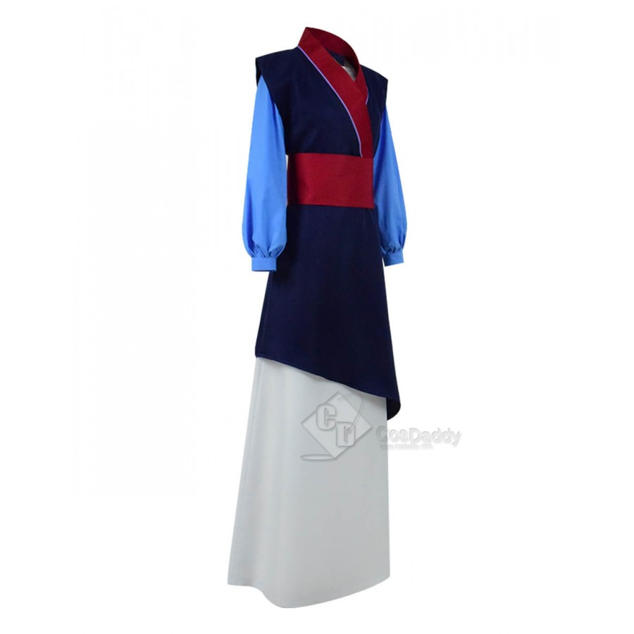 HOT Damen Hua Mulan Cosplay Anime Costume Kleid Han-Chinesen Kleidung