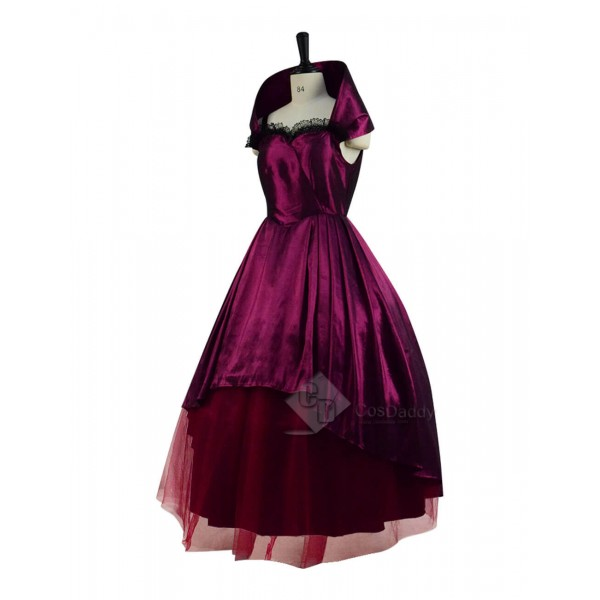 The Greatest Showman Bearded Lady Lettie Lutz Dress Cosplay Costume