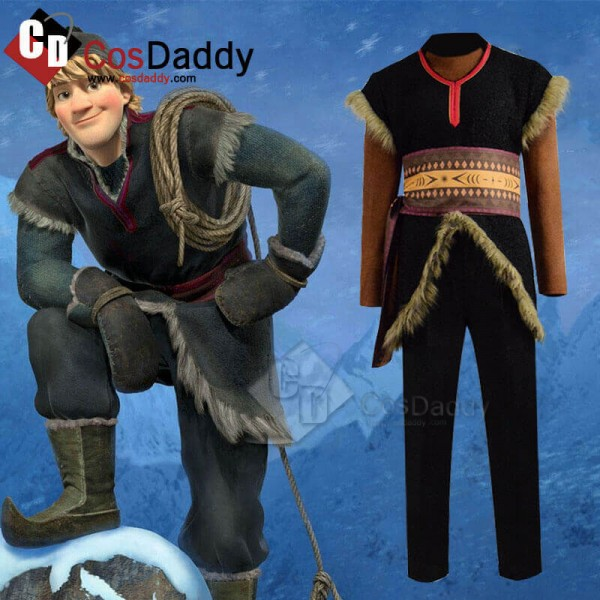 Disney Frozen 2 Kristoff Bjorgman Costume Mens Cos...