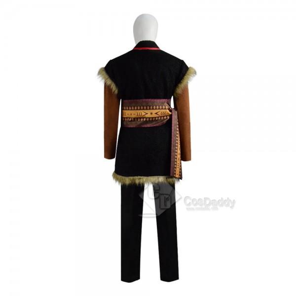 Disney Frozen 2 Kristoff Bjorgman Costume Mens Cosplay Guide CosDaddy