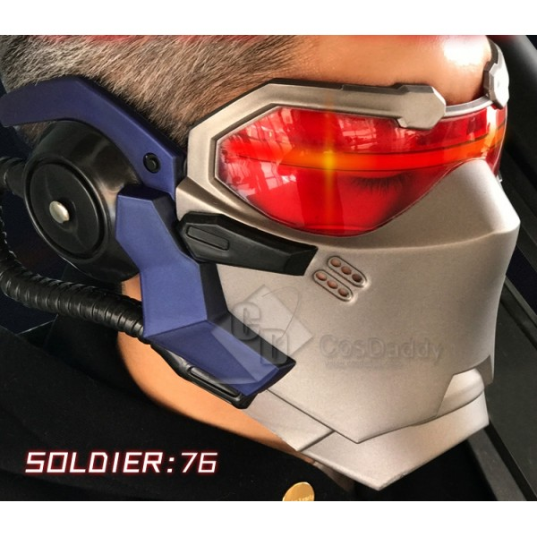 Cosdaddy OverwatchSoldier: 76  Mask Cosplay Porp