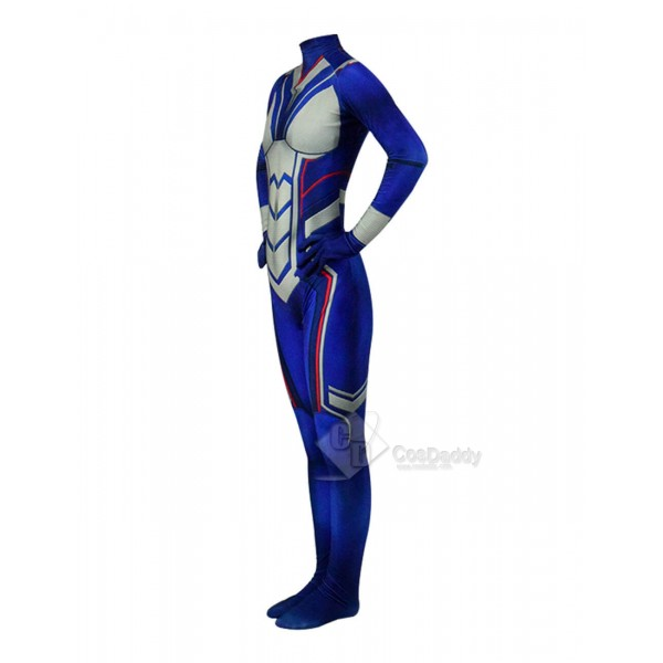 Women's Wasp Marvel Superhero Costume Suit  Zentai Cosplay Costume Halloween
