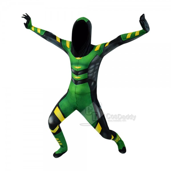 Green Arrow Costume Halloween Cosplay Suits Spande...