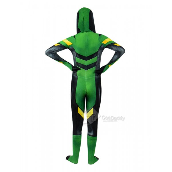 Green Arrow Costume Halloween Cosplay Suits Spandex Adults Cosdaddy