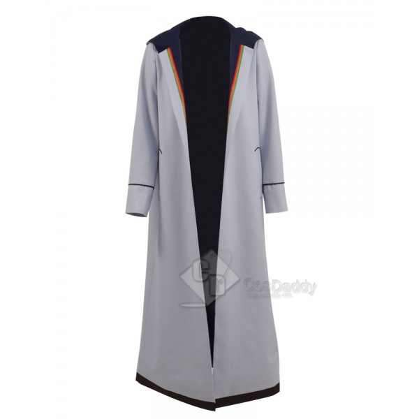 Doctor Who 13th Doctor Cosplay Costume Trench Coat...