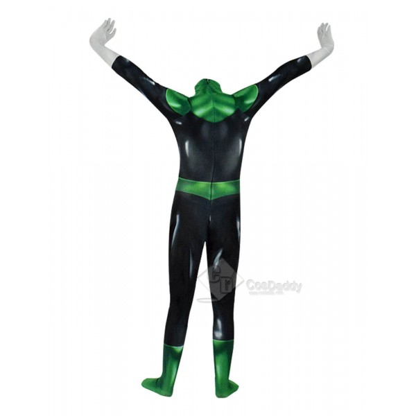 Green Lantern Superhero Costume Cosplay Suit Adults Halloween 2019