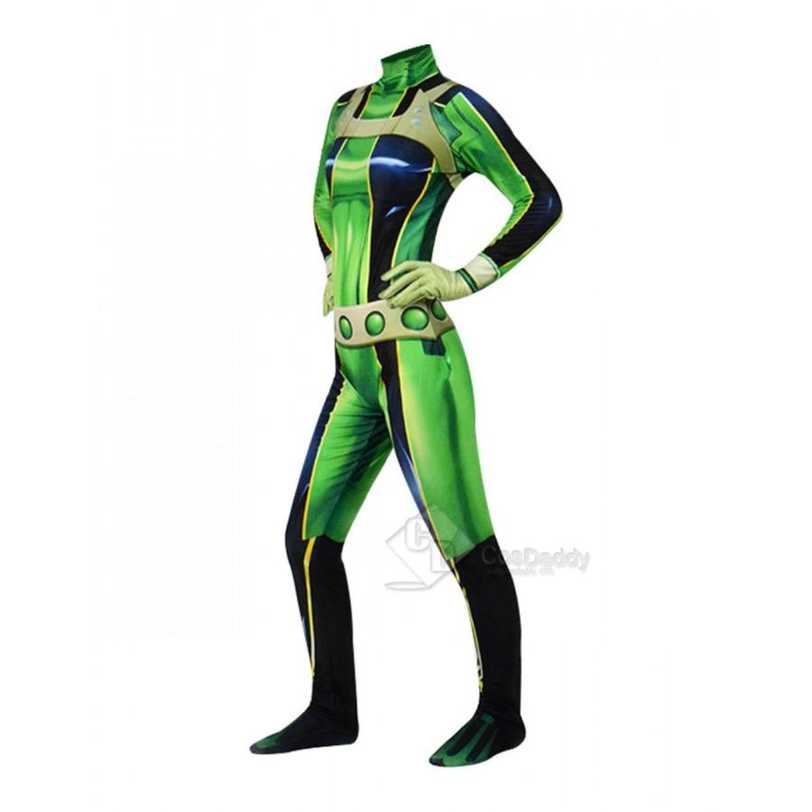 My Hero Academia Asui Tsuyu Boku No Hero Cosplay Costume