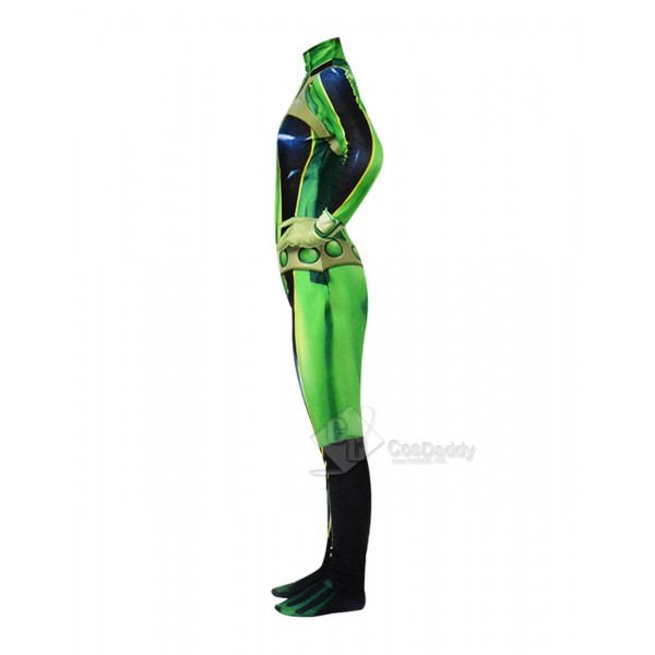 My Hero Academia Asui Tsuyu Boku No Hero Cosplay Costume Women Jumpsuit
