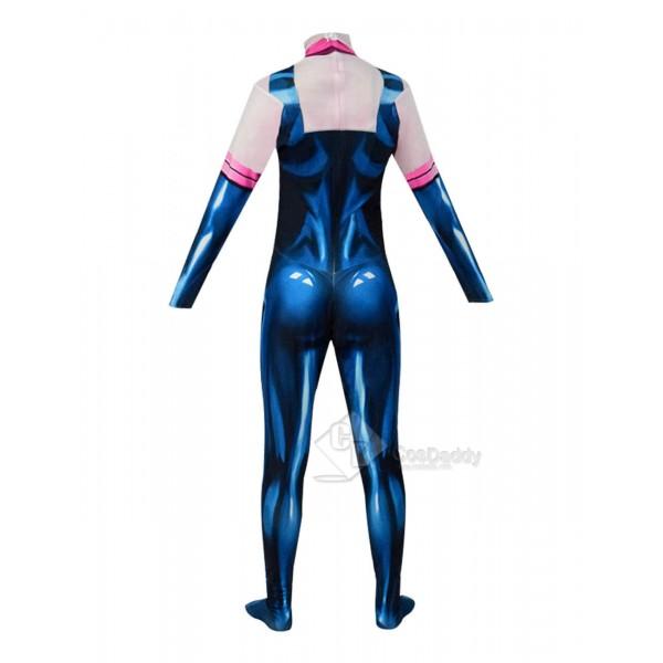 My Hero Academia Women Ochaco Uraraka Costume Cosplay Suit Jumpsuit