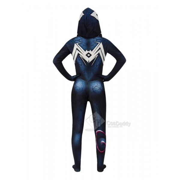 Spiderman Superhero Halloween Gwenom Women Cosplay Costume Venom Suit