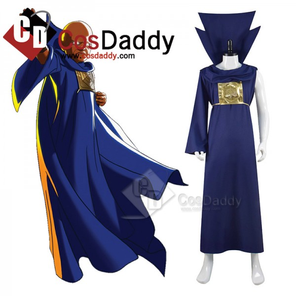 Marvel Movie What If The Watcher Cosplay Costume H...