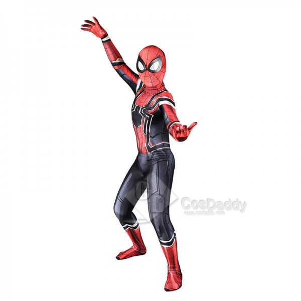 Spiderman Homecoming Costume Lycra Spandex Zentai ...