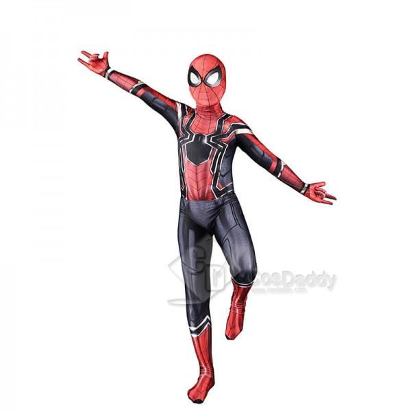 Spiderman Homecoming Costume Lycra Spandex Zentai Spiderman Cosplay Suit