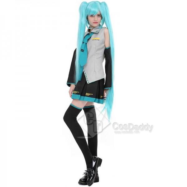 Vocaloid 2 Hatsune Miku Cosplay Costume