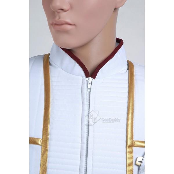 Star Trek TNG Insurrection Nemesis Jean-Luc Picard White Gold  Uniform