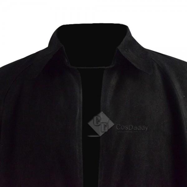 Dracula 2020 Velvet Black Cloak Cape Adults Cosplay Costume