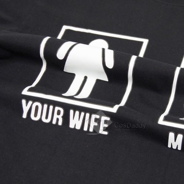 Fashion Black Wonder Woman T-Shirts For Sale