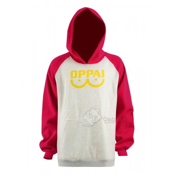 One Punch Man Saitama Sensei Hero Hoodie Sweatshir...