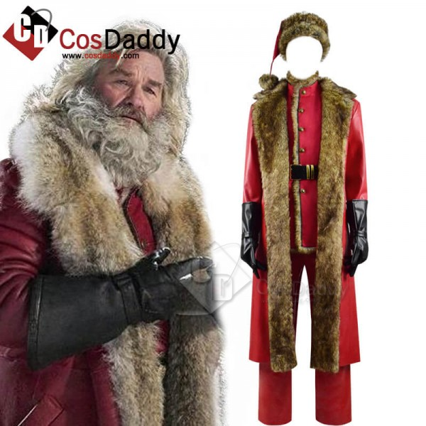 The Christmas Chronicles Santa Claus Red Shearling...
