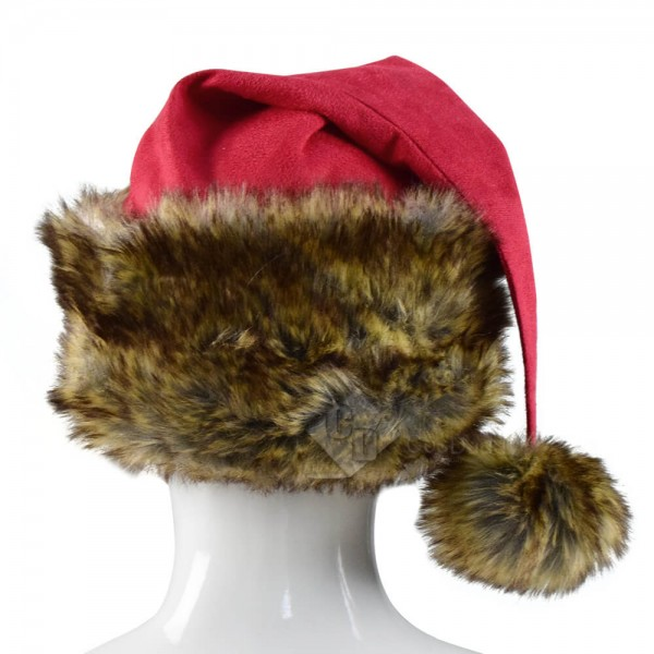 The Christmas Chronicles Santa Claus Red Shearling Coat Outfit Deluxe Version Cosplay Costume For Sale