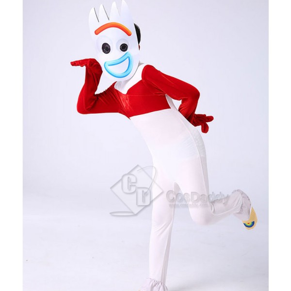Disney Toy Story 4 Forky Costume Jumpsuit For Kids...