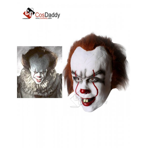 Stephen Edwin King IT the Losers Club Pennywise Clown Mask 2017