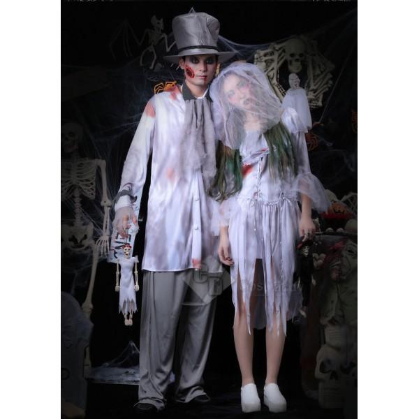 Scariest Halloween Costume Female Ghosts Bride Bri...