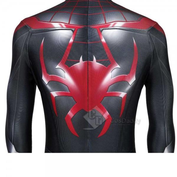 PS5 Spider-Man: Miles Morales Jumpsuit Bodysuit Cosplay Costume