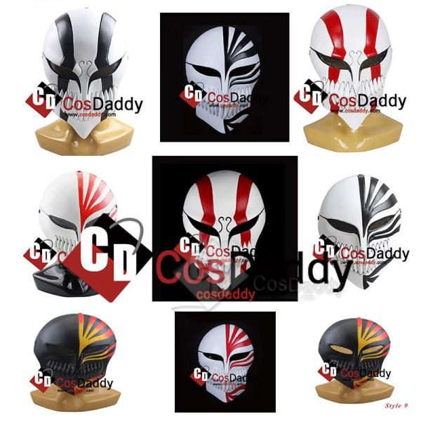 Bleach Ichigo Kurosaki Hollow Mask Anime Cosplay P...