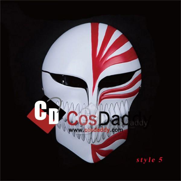 Bleach Ichigo Kurosaki Hollow Mask Anime Cosplay Prop Full Face 9 Version