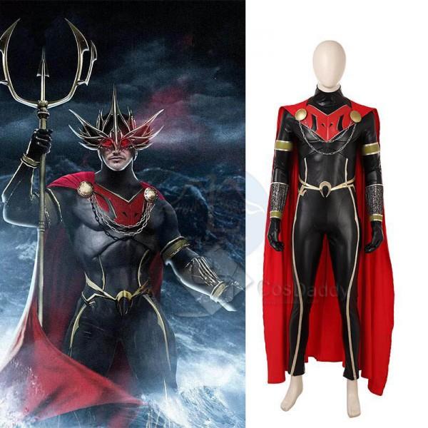 Aquaman Ocean Master Orm Cosplay Costume