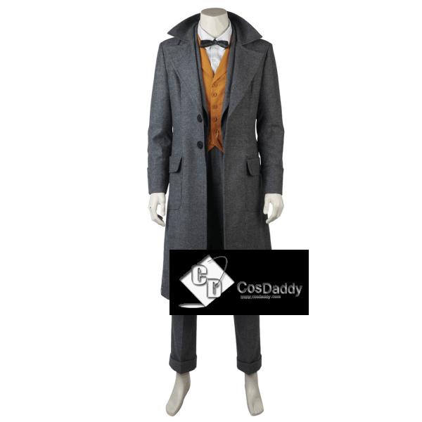 Fantastic Beasts The Crimes of Grindelwald Newt Scamander Coat Cosplay Costume