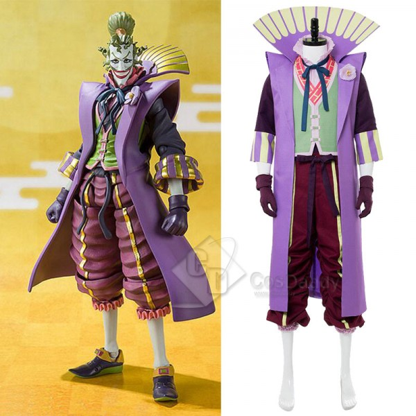 Batman Ninja Joker Mr.J Cospaly Costume