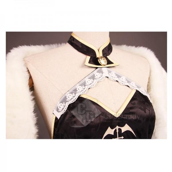 Azur Lane Vampire Cheongsam Cosplay Costume