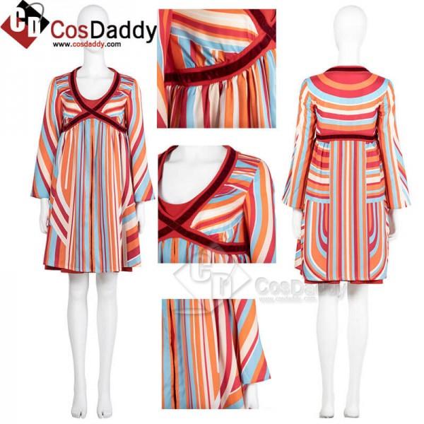 WandaVision 2021 Wanda Pregnant Dress Halloween Co...
