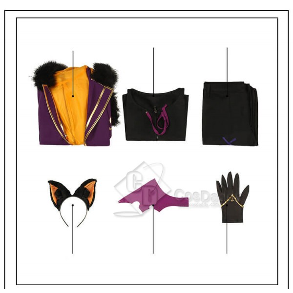 Cacophony Whirling Horror Night Ensemble Stars Halloween Trickstar Isara Mao Cosplay Costume