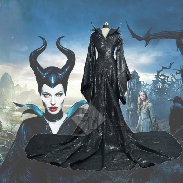 Disney Maleficent Mistress of Evil Black Witch Ang...