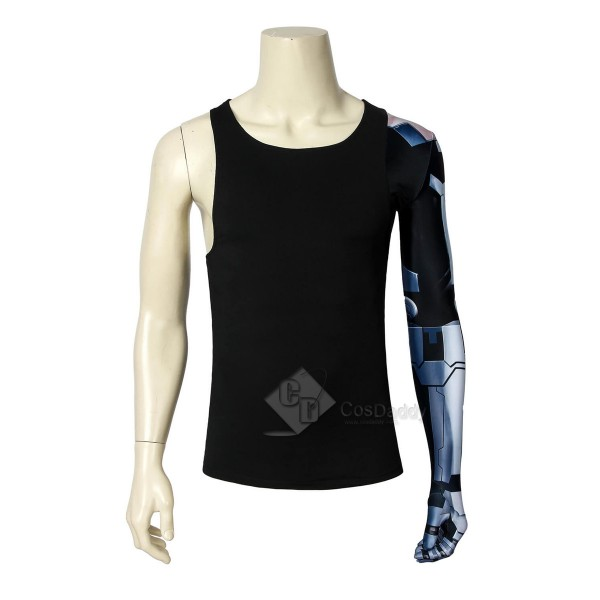 CosDaddy Cyberpunk 2077 PS4 Johnny Silverhand Cosplay Costume