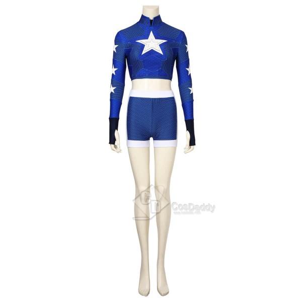 DC Stargirl Superhero Courtney Whitmore Cosplay Costume Women Halloween Outfit