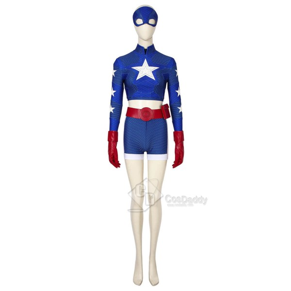 DC Stargirl Superhero Courtney Whitmore Cosplay Co...