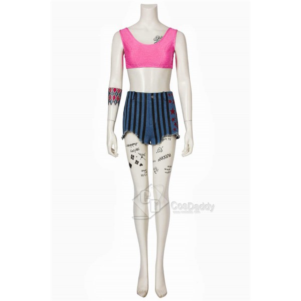 CosDaddy DC Birds of Prey 2020 Harley Quinn Cosplay Costume Guide