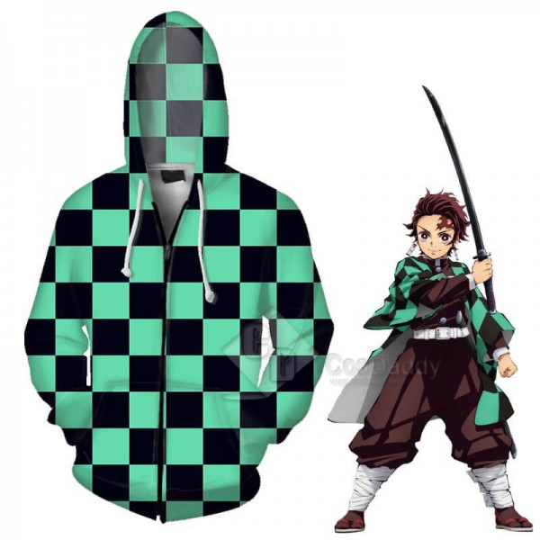 Demon Slayer‎ Kimetsu no Yaiba 3D Print Hoodie P...
