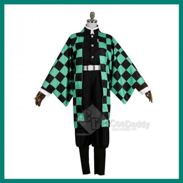 Demon Slayer Kimetsu No Yaiba Tanjirou Kamado Animation Cosplay Costume