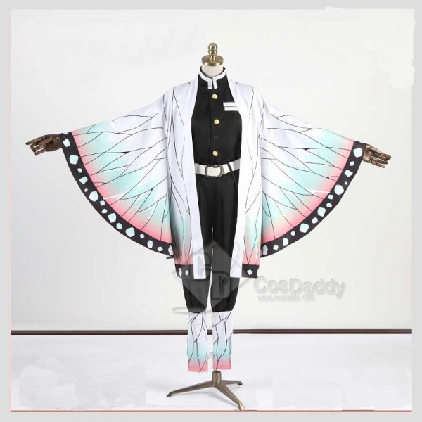 Amine Demon Slayer Kimetsu no Yaiba Kochou Shinobu Cosplay Costume