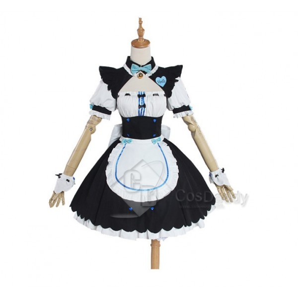 NEKOPARA Chocolat & Sanilla Sweet Maid Dress Cosplay Costume CosDaddy