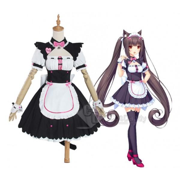 NEKOPARA Chocolat & Sanilla Sweet Maid Dress Cosplay Costume CosDaddy