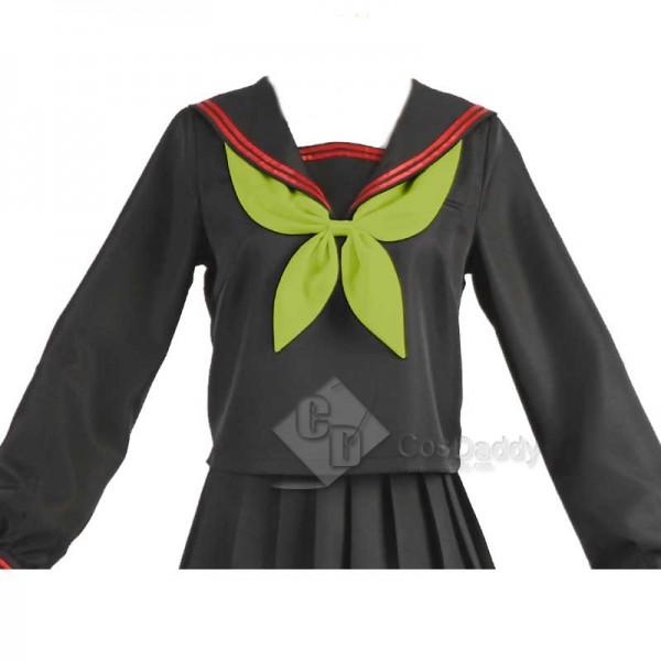 Demon Slayer Kimetsu No Yaiba Nezuko Kamado School Uniforms Dress Cosplay Costume